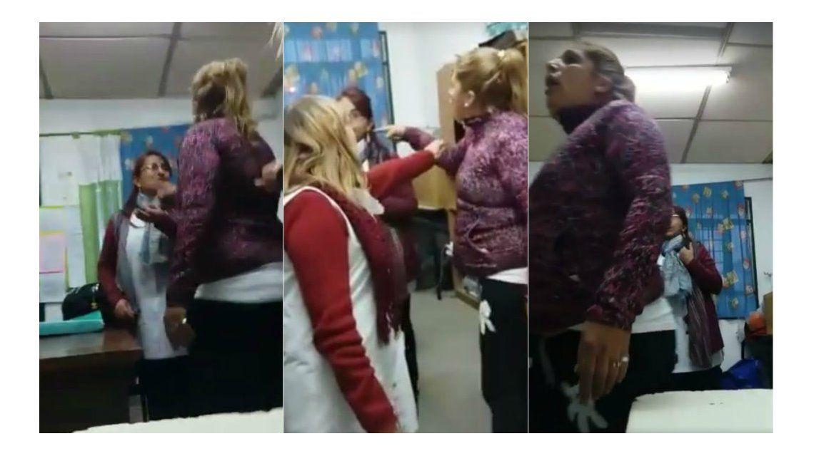 Así agredió la madre a una docente en una escuela de Tigre