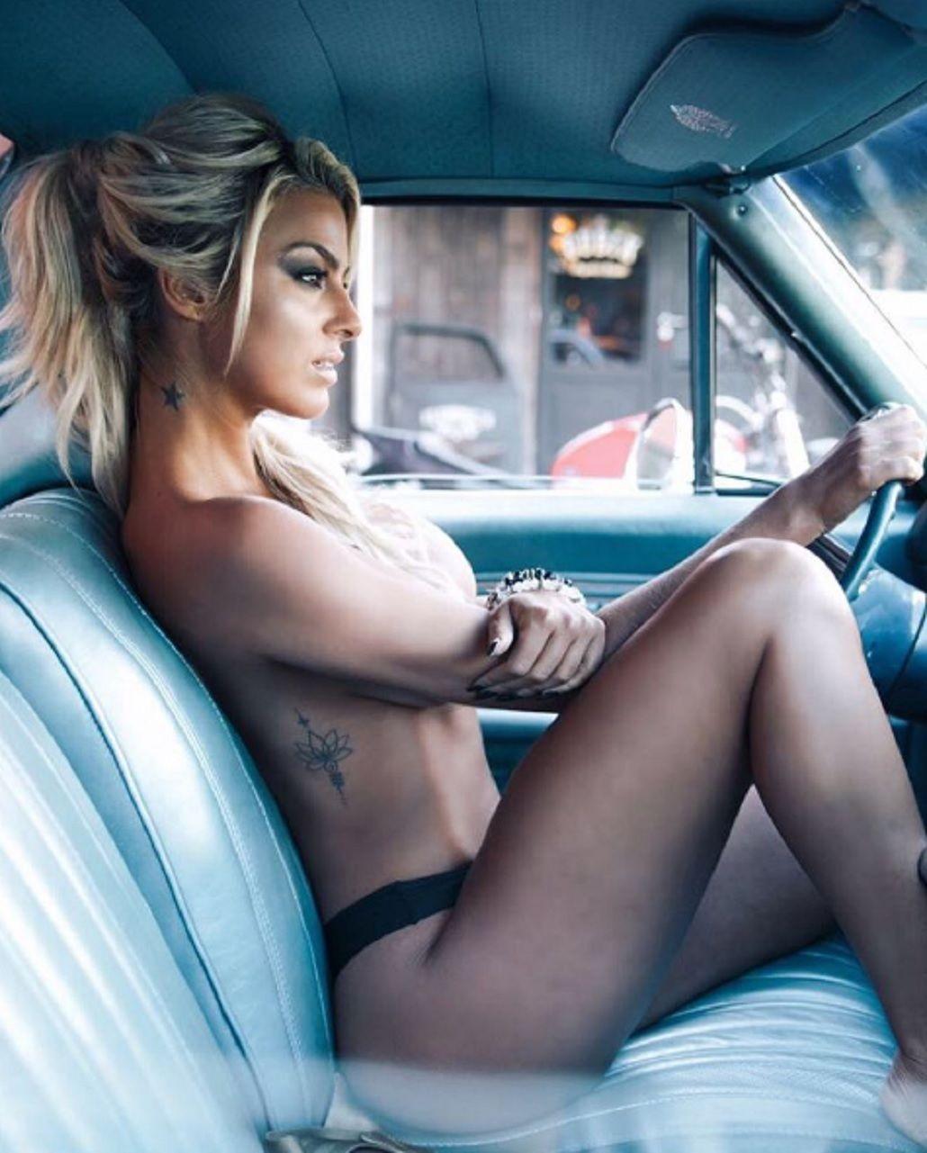 VIDEO: el backstage hot de Ailén Bechara para la revista Playboy
