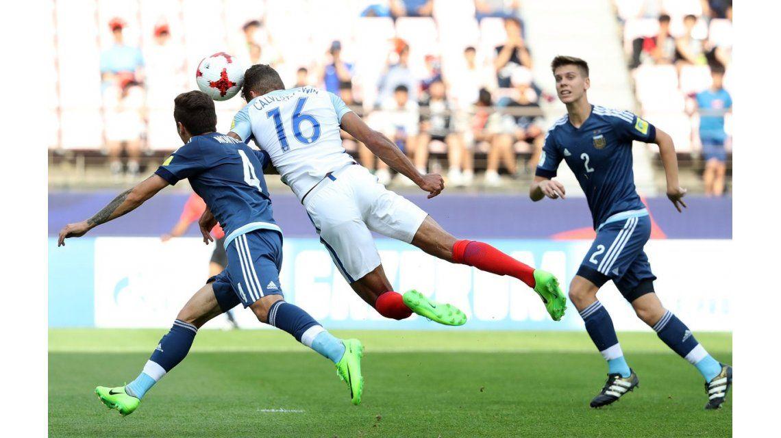Calvert-Lewin marca el 1 a 0 para Inglaterra