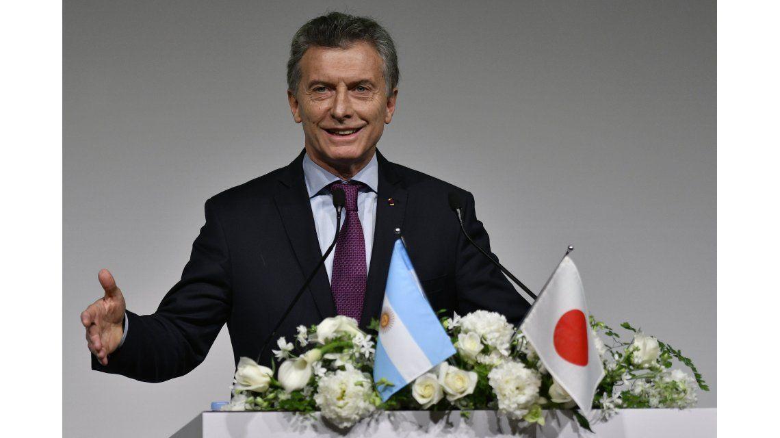 Mauricio Macri en Japón