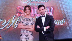 Paula Chaves y José María Listorti, conductores de Este es el show