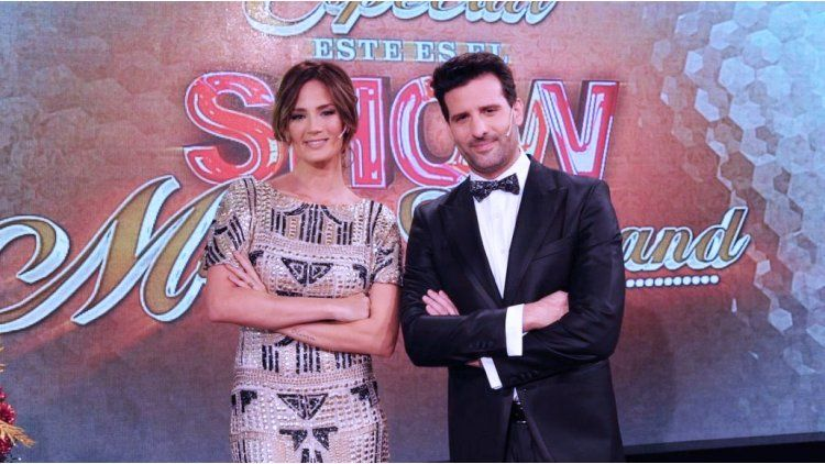 Paula Chaves y José María Listorti