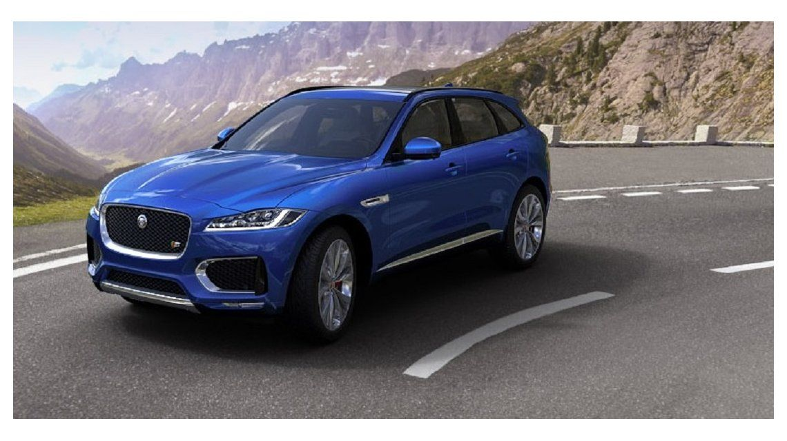 El Jaguar F-PACE ganó el World Car 2017 - Crédito: www.jaguar.es