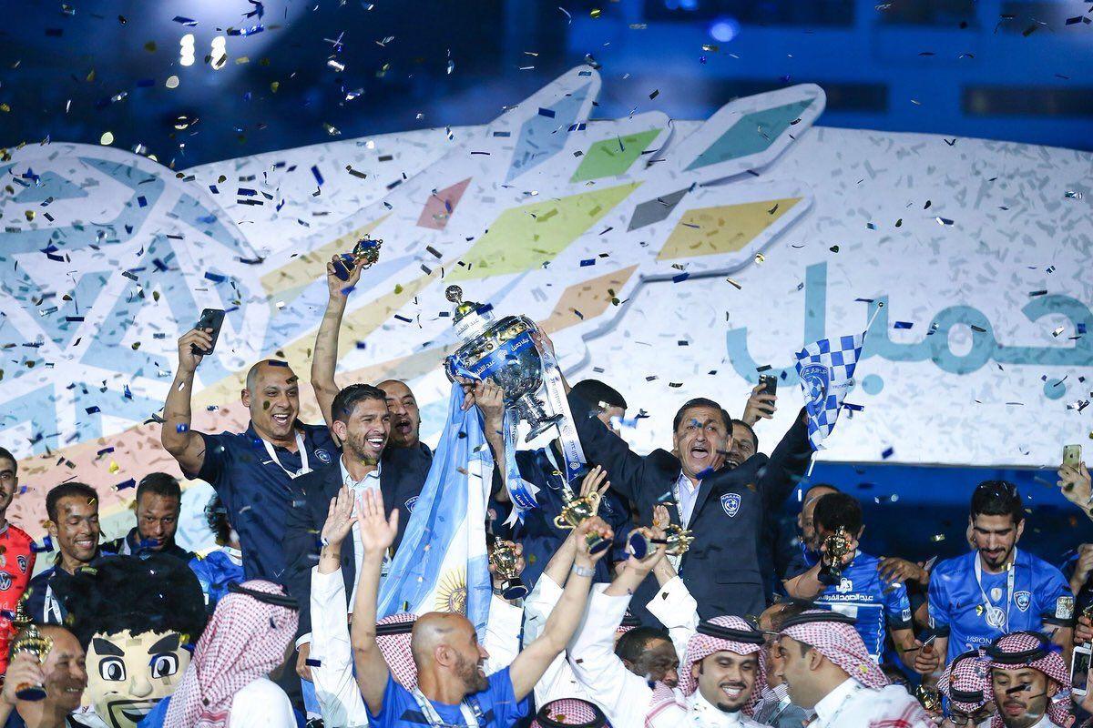 El Al-Hilal de Ramón Díaz ganó la Copa del Rey de Arabia Saudita