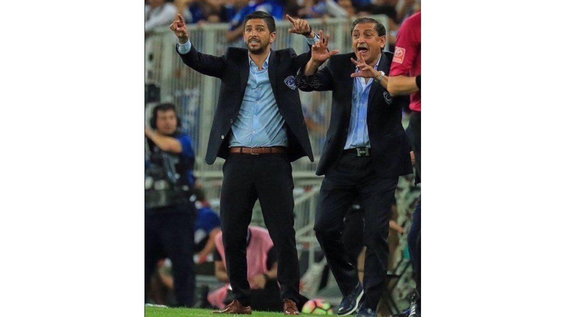 Emiliano Díaz pidió perdón por romper una camiseta de Boca en Arabia