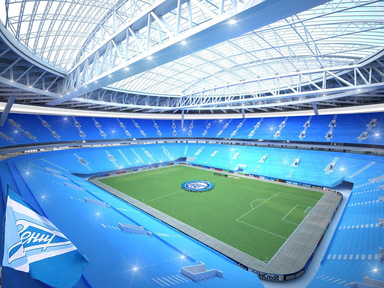 El estadio más caro del mundo se utilizará en el Mundial de Rusia 2018
