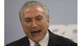 La Corte Suprema de Brasil autorizó que Temer sea interrogado