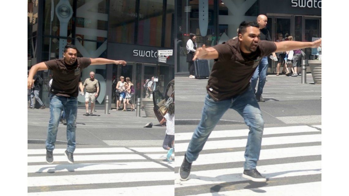 VIDEO: Así arrestaron al conductor que atropelló y mató en Times Square