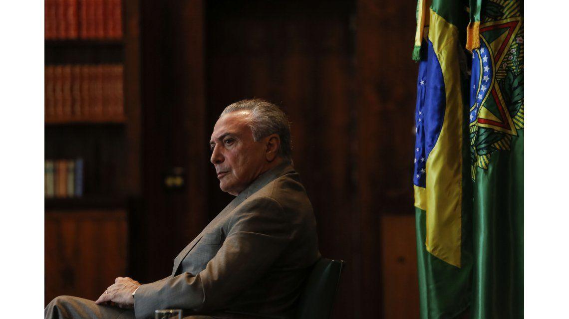 Michel Temer negó que haya avalado sobornos y aseguró: No renunciaré