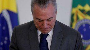 La Corte de Brasil autorizó investigar a Temer por Odebrecht