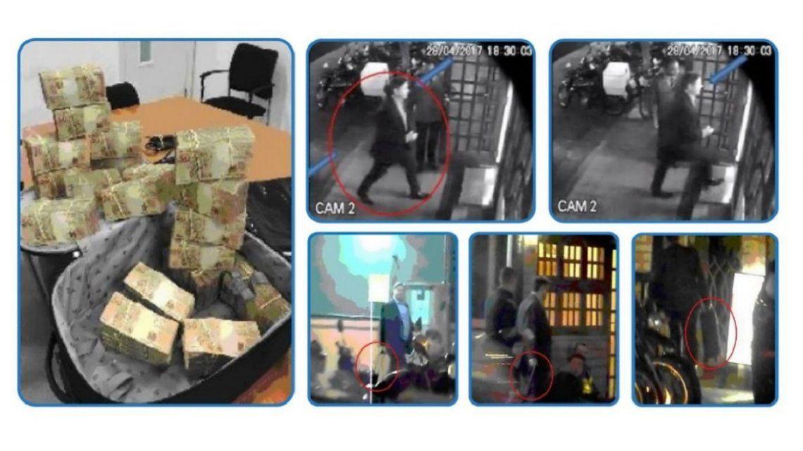 OGlobo difundió fotos del pago de la coima