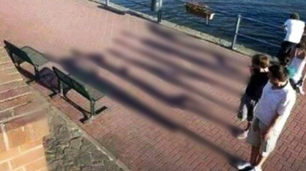 Encontrá el mensaje escondido en esta foto familiar