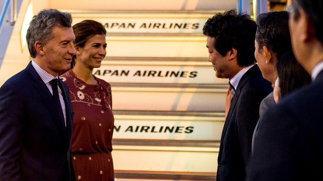 Macri llegó a Japón