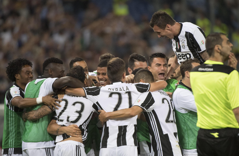 Juventus acaba de gritar campeón en Italia por 6º vez consecutiva