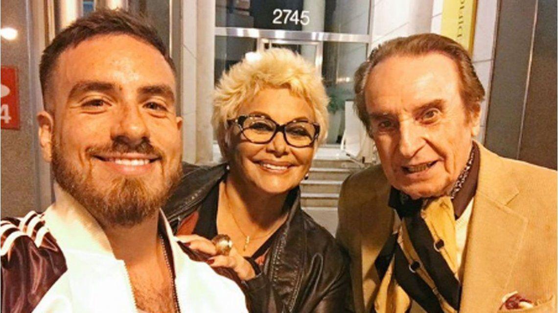 El divertido reclamo de Fede Bal a Carmen y Santiago