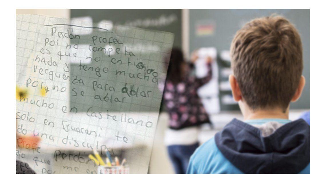Carta de un alumno a su maestra: No entiendo y tengo mucha vergüenza