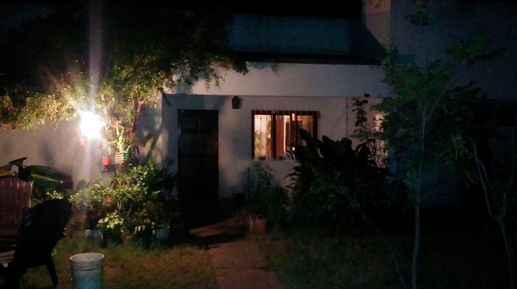 La casa donde ocurrió el lamentable episodio transmitido por Facebook Live