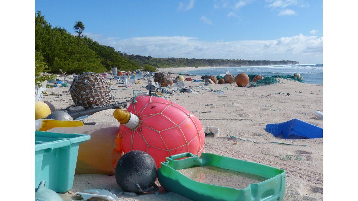 La isla de Henderson es el lugar con más contaminación del mundo