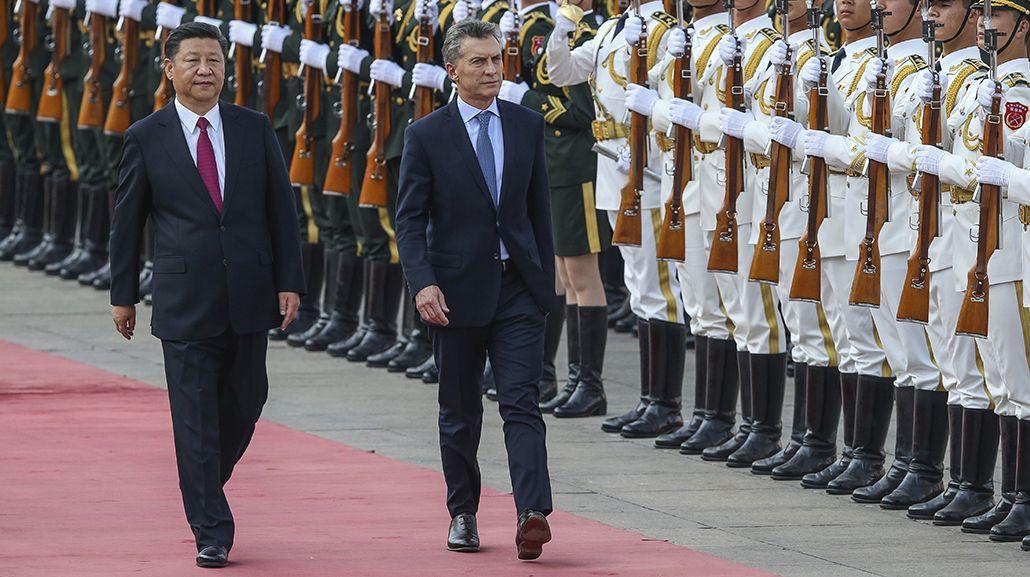 Macri firmó con Xi Jinping acuerdos por US$15 mil millones