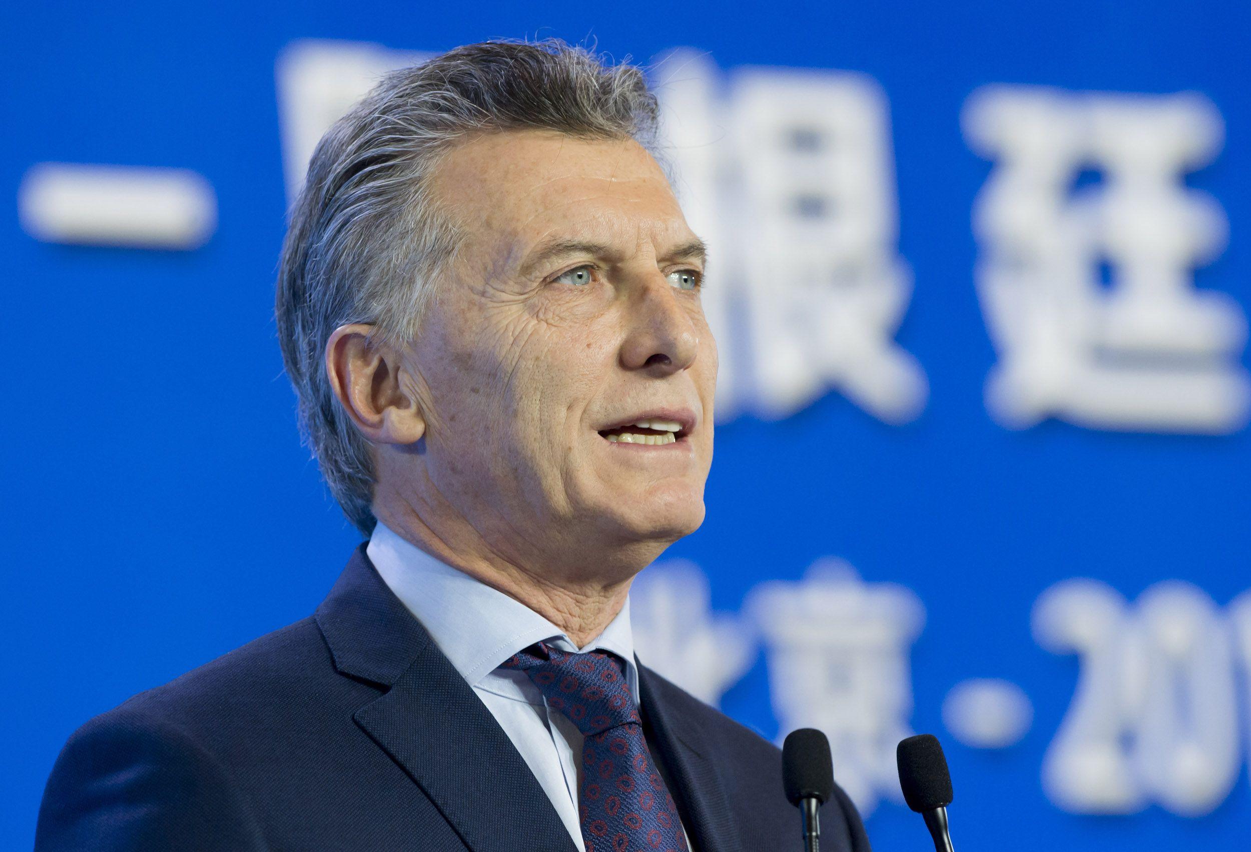 Mauricio Macri en China