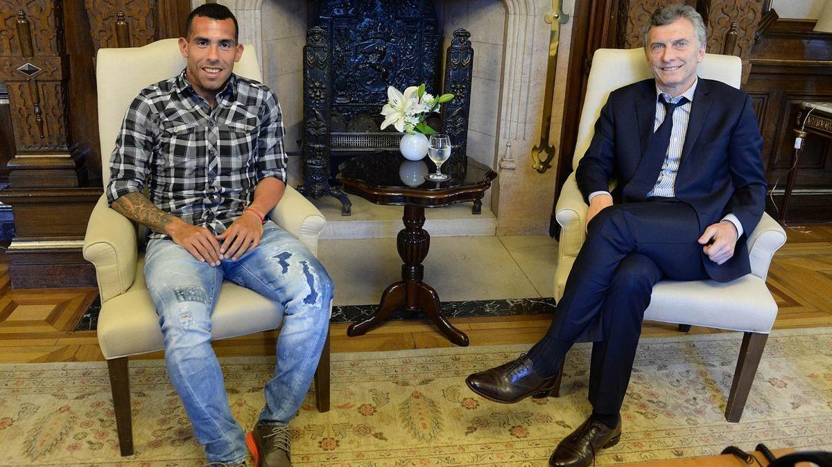 El presidente y el Apache