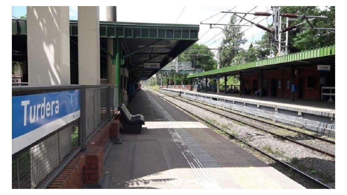 Estación Turdera del Ferrocarril Roca