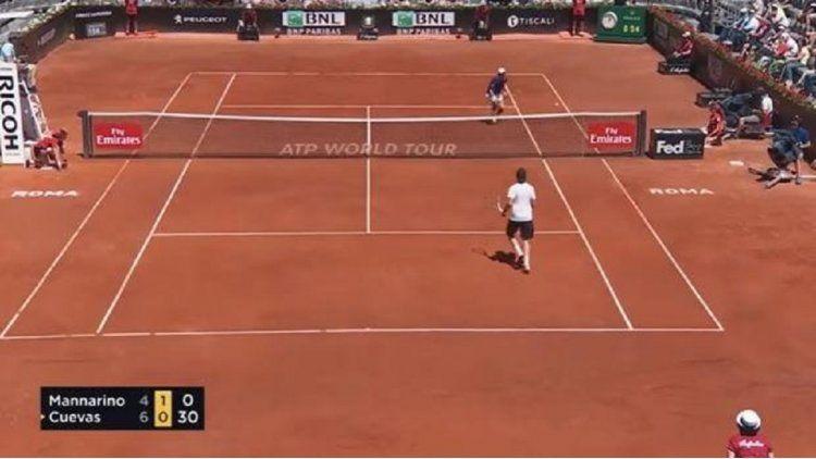 La increíble jugada sucedió en el Masters 1000 de Roma