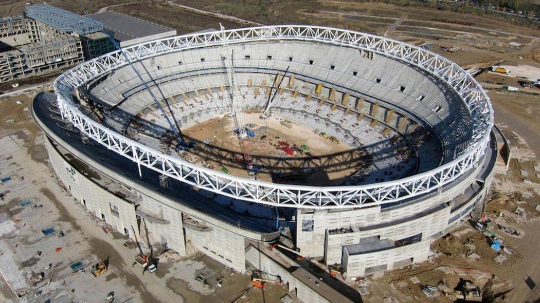 El Atlético Madrid tendrá un estadio mucho más moderno que el Vicente Calderón