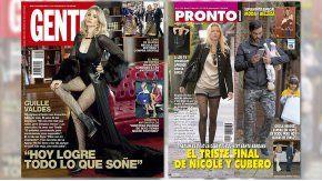 Guillermina Valdes, Nicole y Cubero, los protagonistas de las tapas