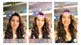 Instagram agrega filtros para selfies