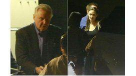 Angelina Jolie y su padre cenaron juntos con los hijos de la actriz.
