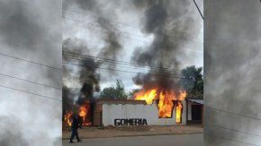 Un hombre mató a dos vecinos e hirió a otro. Foto: La Mañana de Neuquén.