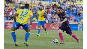 Messi fue titular pero esta vez no anotó