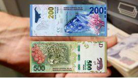 El cuento del tío, con los nuevos billetes