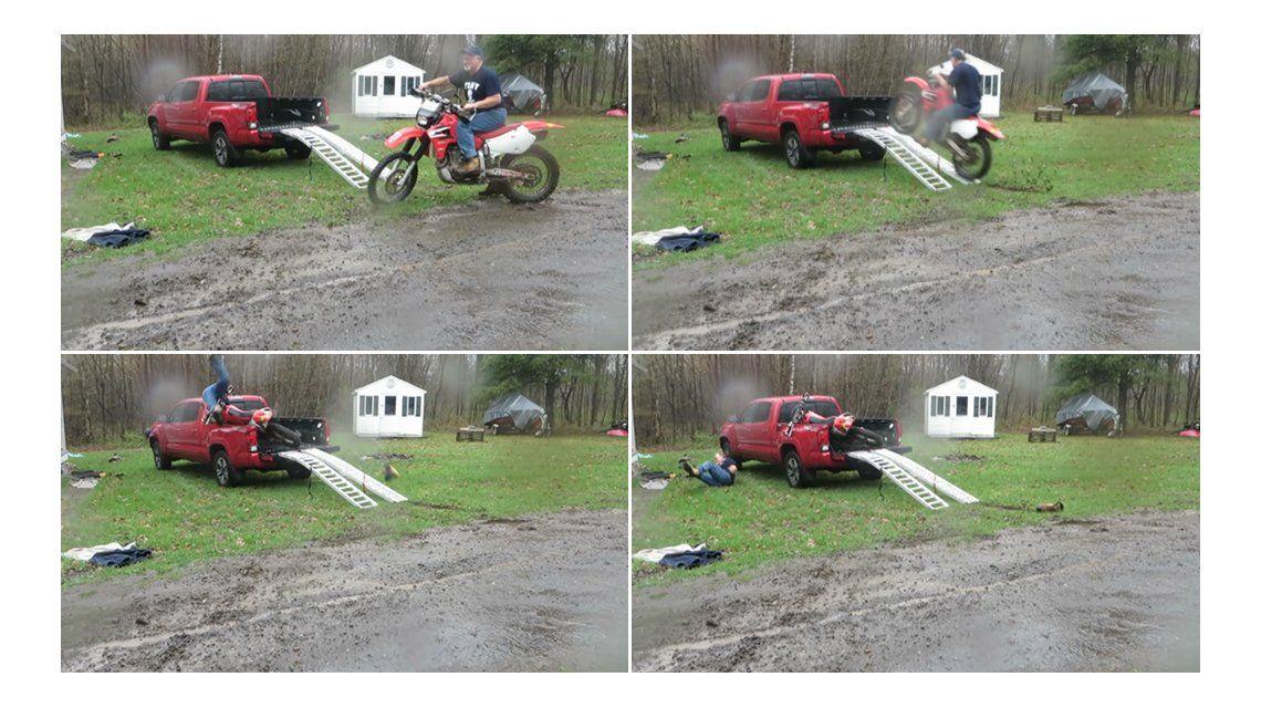 El increíble accidente
