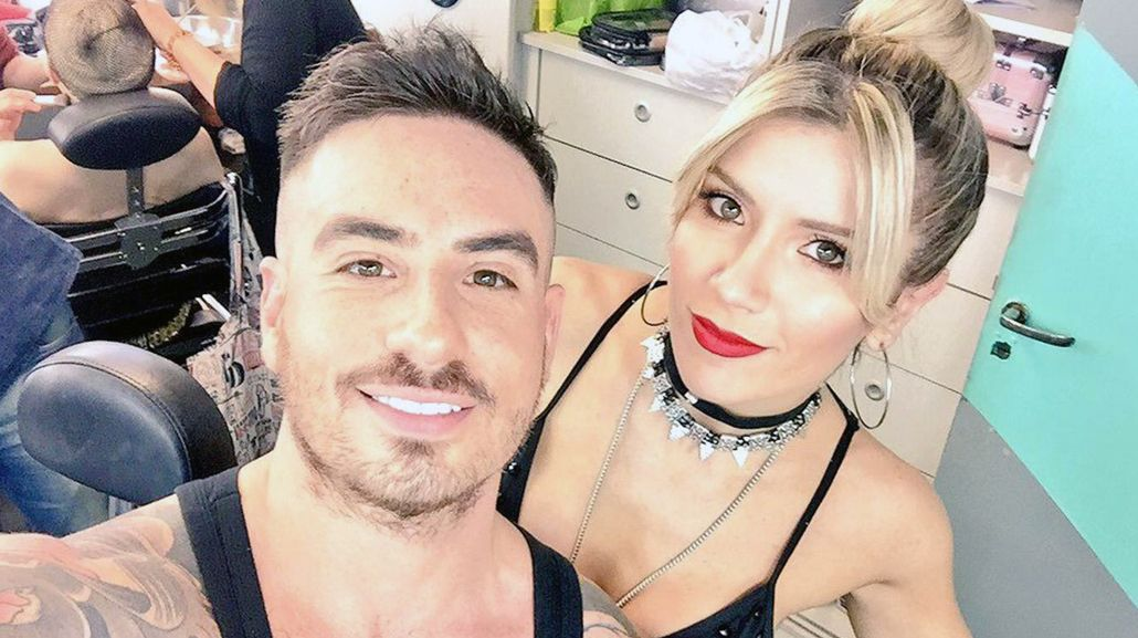 Fede Bal y Laurita Fernández coquetan con el Bailando
