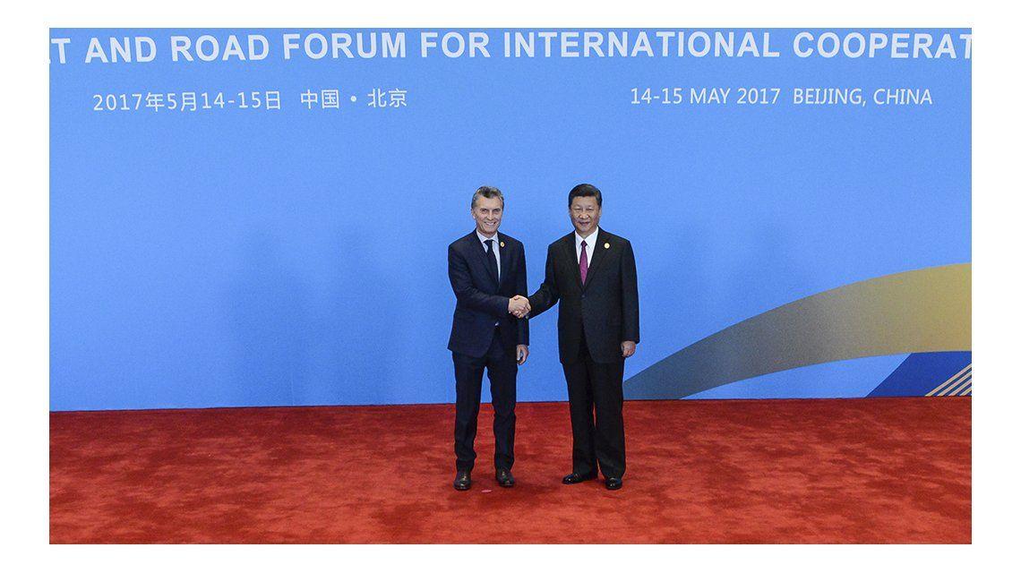 Macri en el foro de líderes mundiales