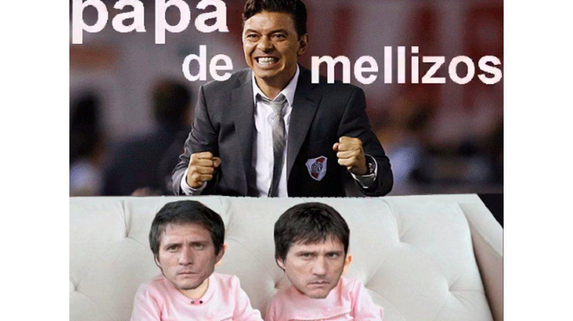 Delira River: los memes contra Boca tras el triunfo en el Superclásico