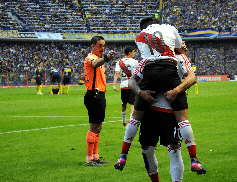 River le ganó por 3 a 1 a Boca en la Bombonera