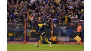 El volante convirtió el único gol de Boca en el Superclásico