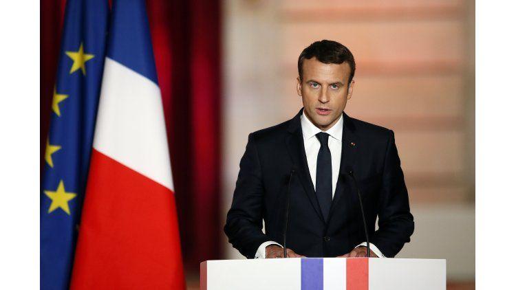 Emmanuel Macron asumió la presidencia de Francia