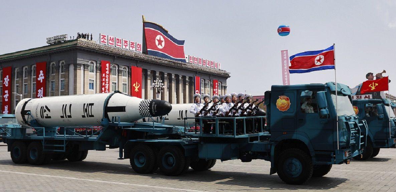 Corea del Norte lanzó un misil que cayó en el mar de Japón