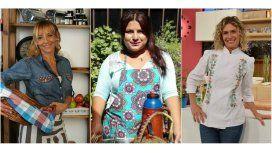 Jimena Monteverde, Elba y Maru Botana, las cocineras de la TV