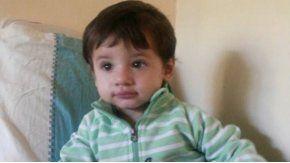 Este es Dante, el bebé que necesita un trasplante de médula