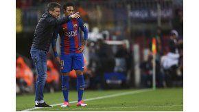 Unzué y Neymar, una relación rota