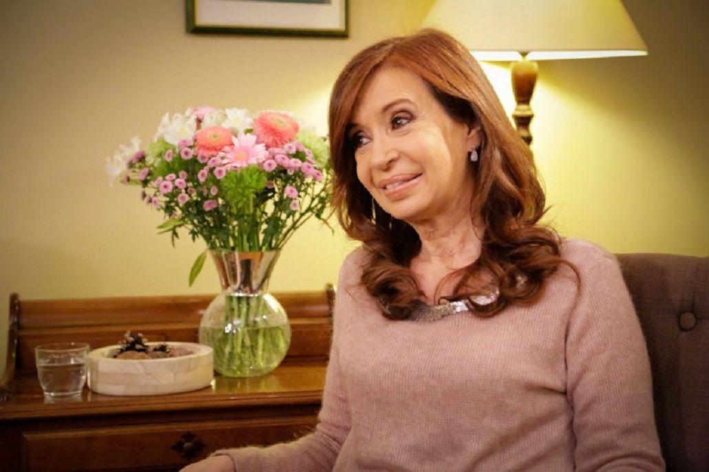 Cristina Kirchner en Telesur