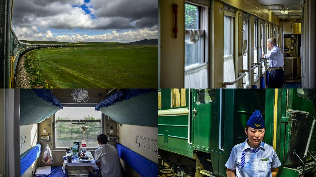 El tren Transmongoliano une China y Rusia