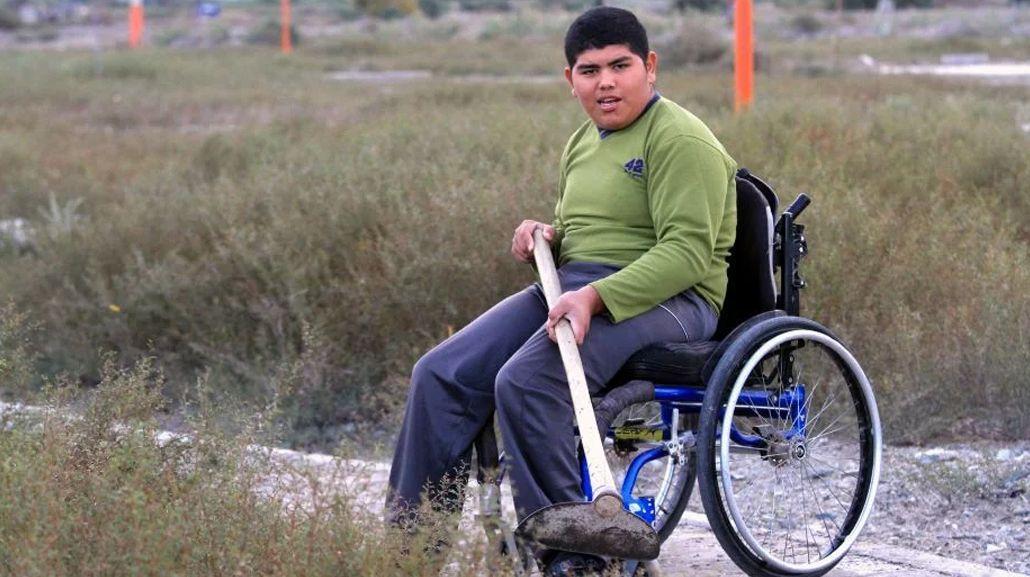 Usa silla de ruedas