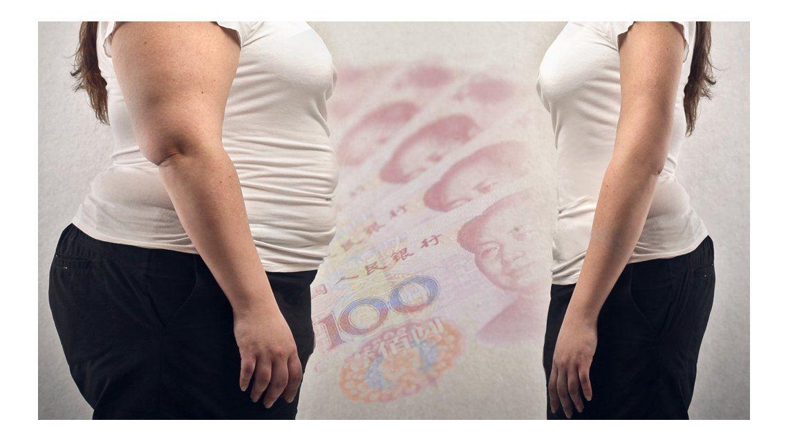 Una de las empleadas logró bajar 10 kilos