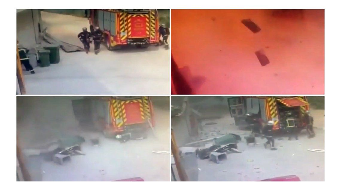 Una explosión dejó decenas de heridos en España